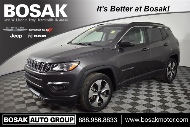 Certified Pre-Owned 2017 Jeep New Compass Latitude
