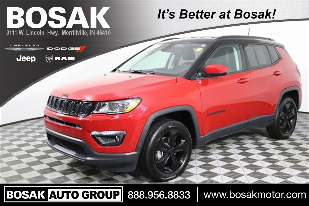 Certified Pre-Owned 2018 Jeep Compass Altitude