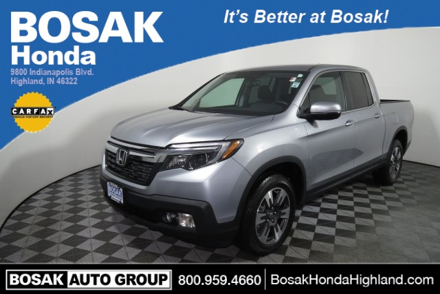 Certified Pre Owned 2017 Honda Ridgeline Rtl T 4d Crew Cab In Burns